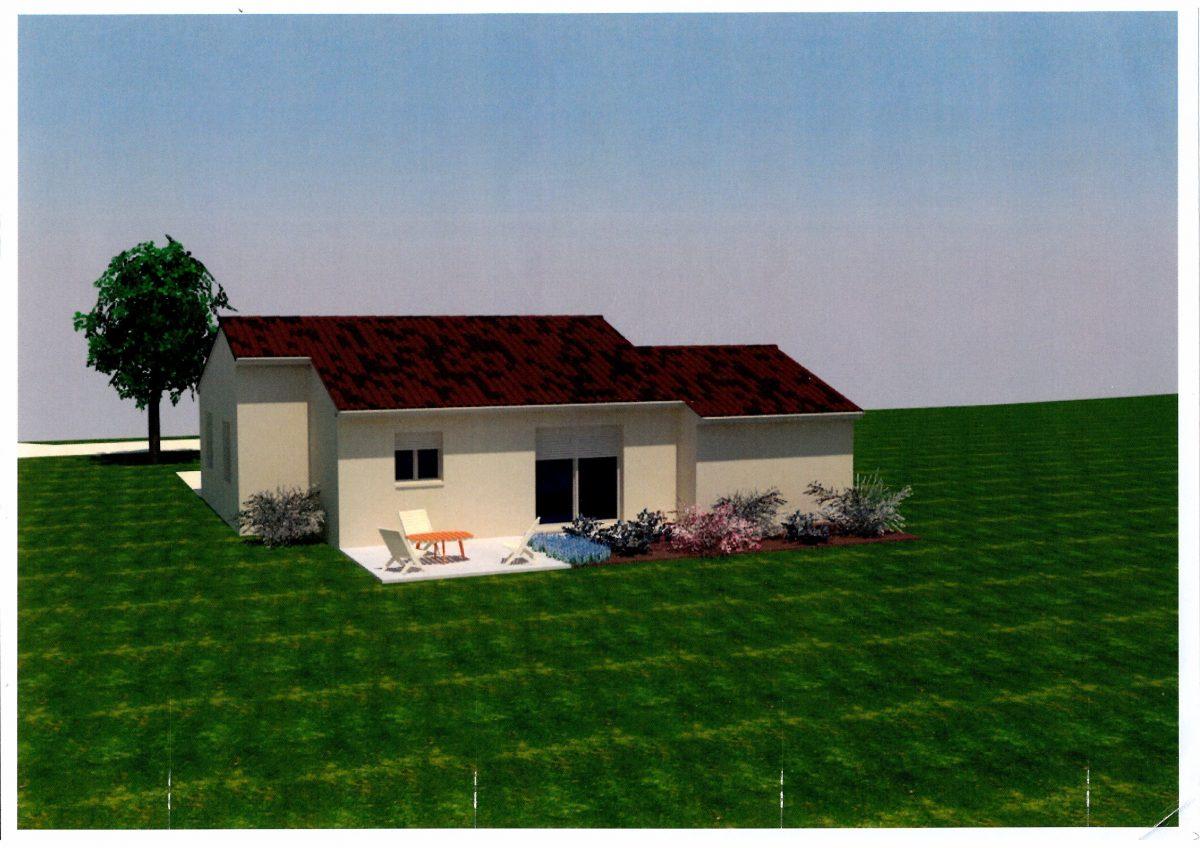 Maison vente sur plan 2 ch le bugue a24 immobilier le bugue for Garage bruneteau le bugue