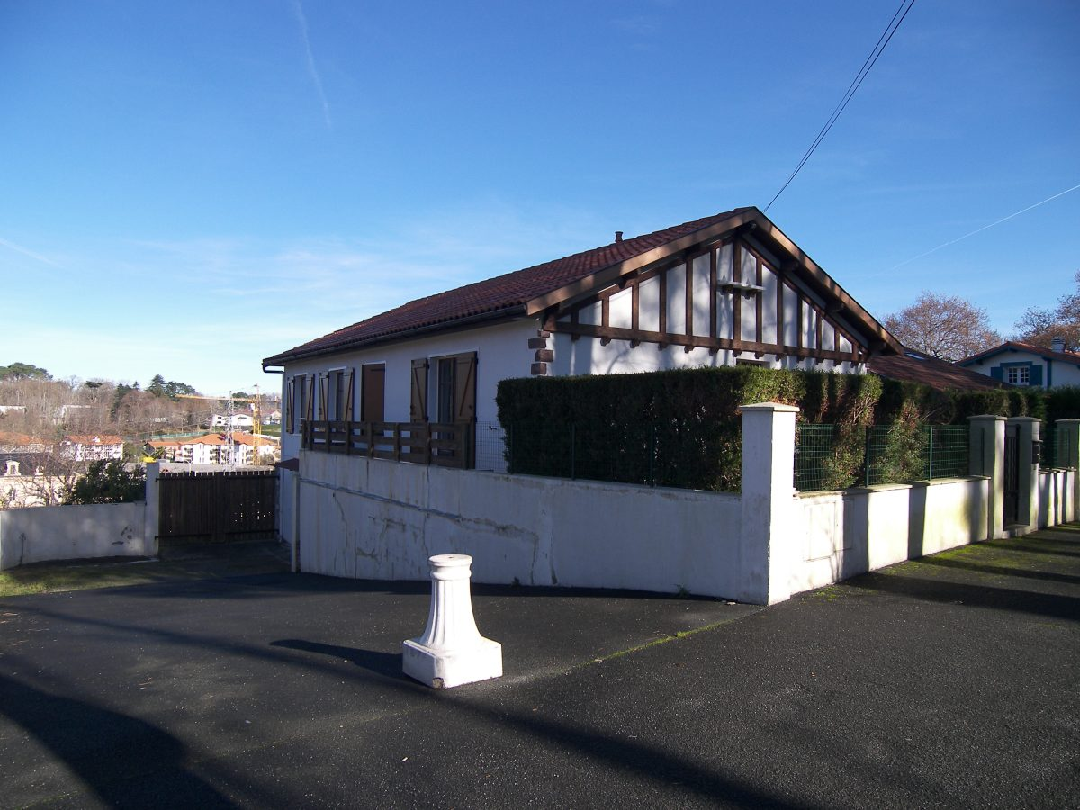 Biarritz maison de plain pied viager occup biarritz for Acheter une maison en viager libre