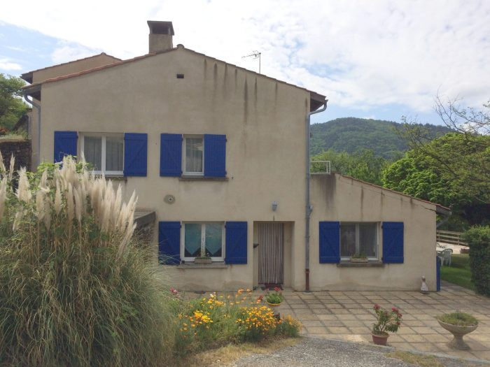 Villa 180 m avec appartement locatif lamastre agat 39 immo for Vente maison individuelle wasquehal