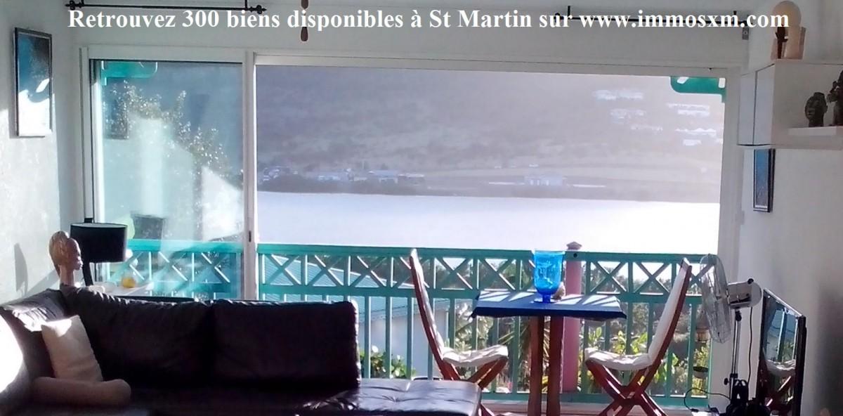 Apartment 76 m² Saint-Martin  3 rooms