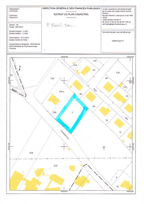 VenteTerrainREQUISTA12170AveyronFRANCE