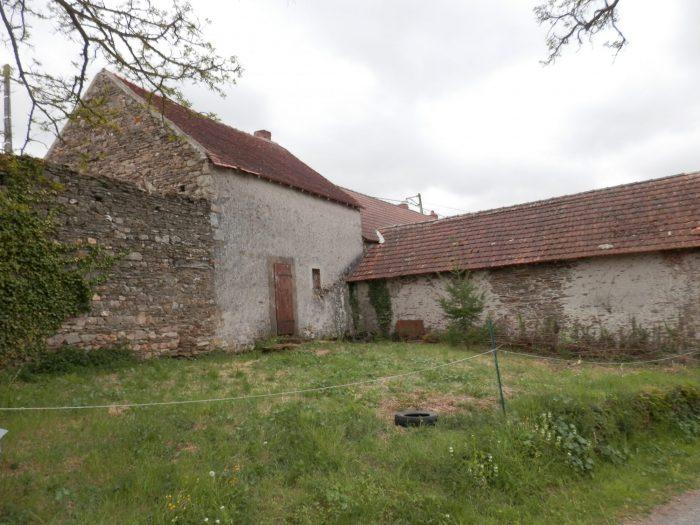 Maison avec grange r nover chouvigny a la campagne immobilier pionsat - Renover grange en maison ...