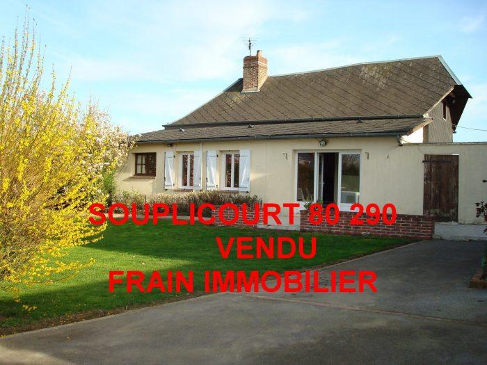 VenteMaison/VillaTHIEULLOY-LA-VILLE80290SommeFRANCE