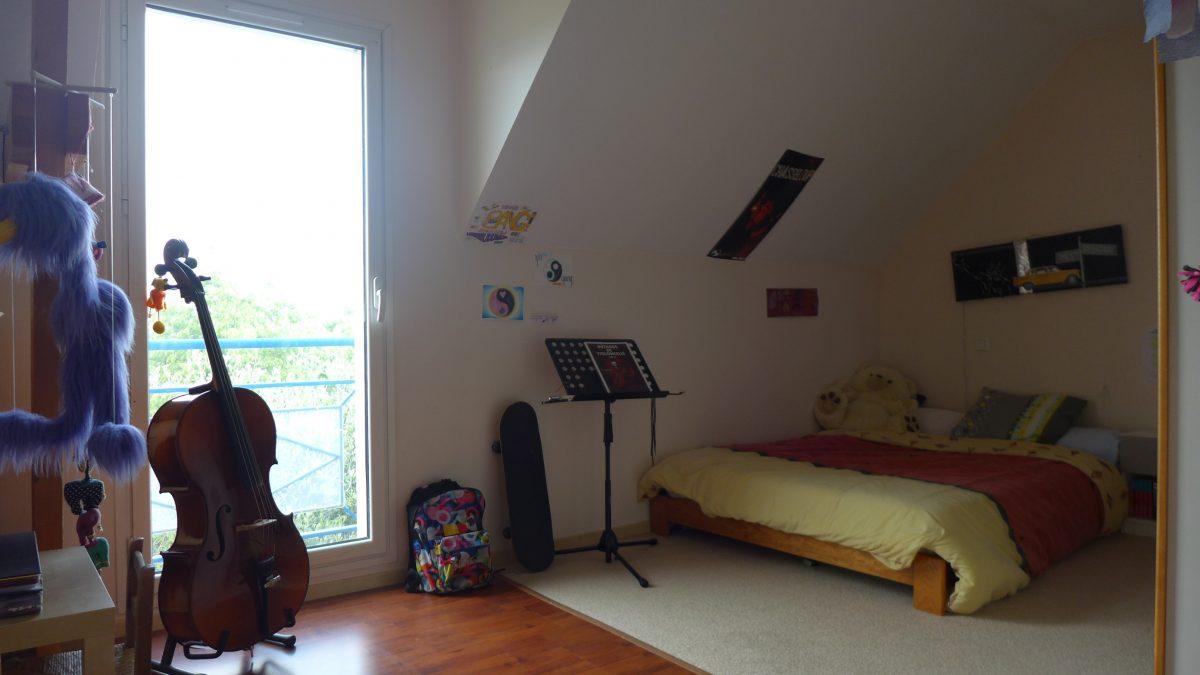 Maison contemporaine spacieuse 6 chambres chalonnes sur loire ...