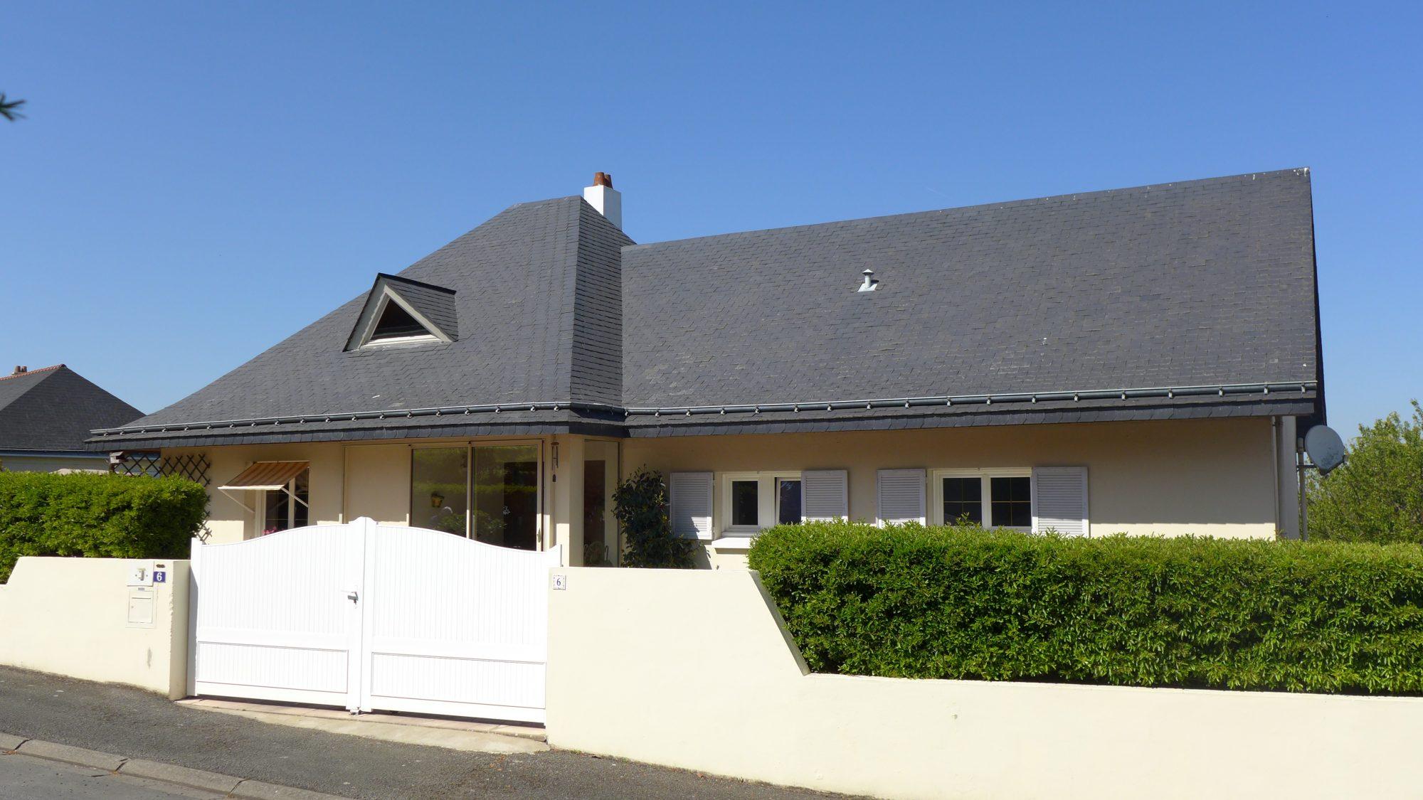 Maison architecte 133m2 sur sous sol chalonnes sur loire for Vente maison individuelle wasquehal