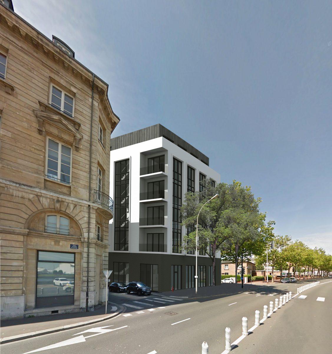 a vendre 359m de bureaux neufs en centre ville du havre. Black Bedroom Furniture Sets. Home Design Ideas