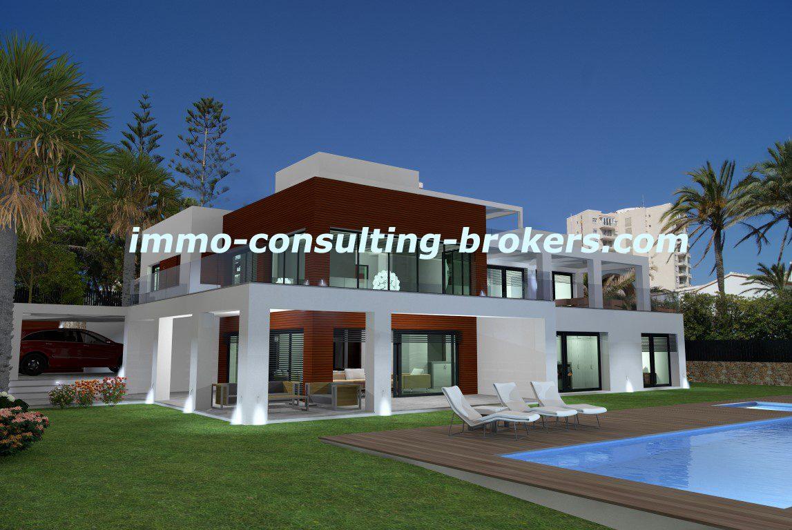 Villas Moderne Front De Mer J Vea