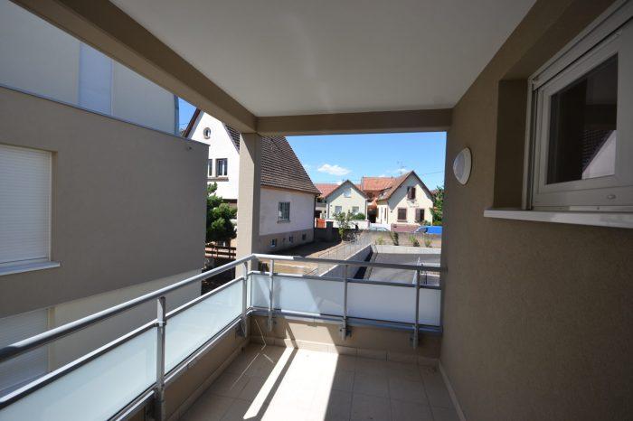 Appartement 73 m² Oberschaeffolsheim  3 pièces