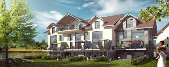 Vente de Appartement 2 chambres - 3 pièces - 61 m² à Annecy-le-Vieux (74940)