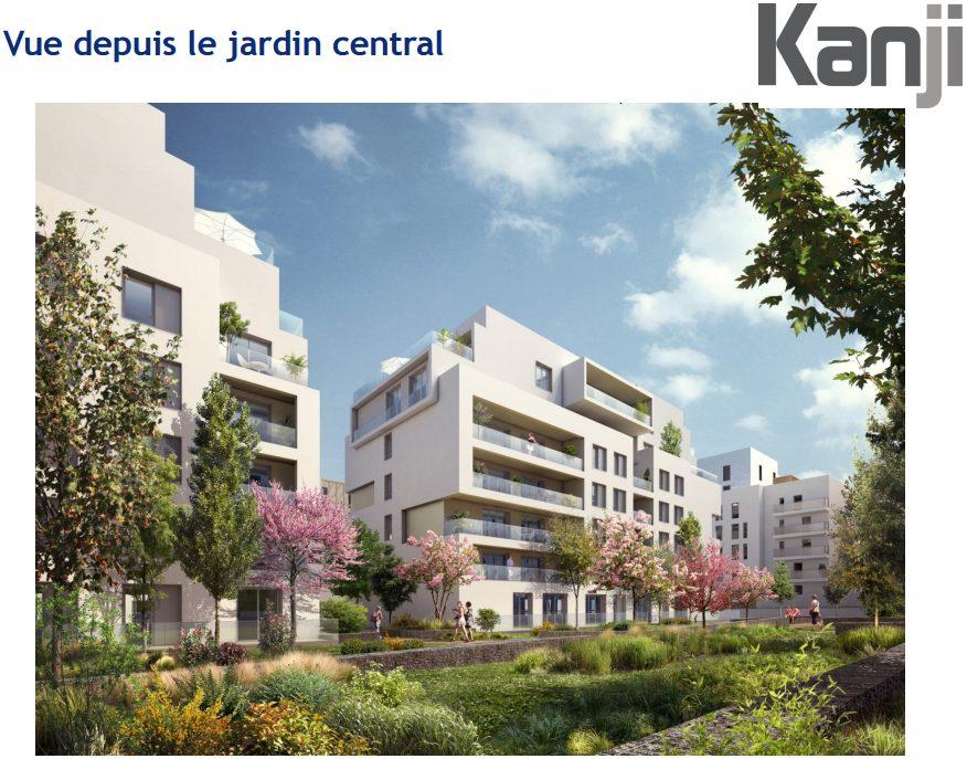 T5 de 102m avec terrasse de 95m monplaisir lyon les for Appartement original lyon