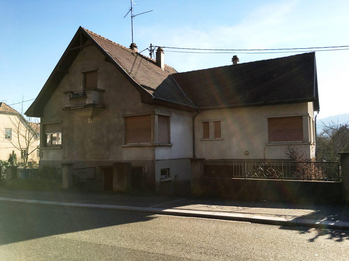 Mutzig maison des ann es 30 r nover mutzig mercor for Vente maison individuelle 06