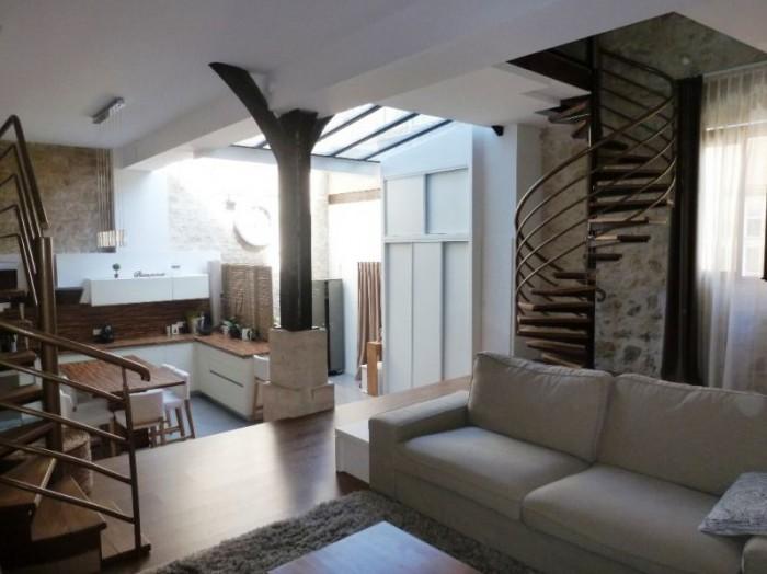 Superbe loft pontoise my home immobilier cergy - Loft design immobilier ...