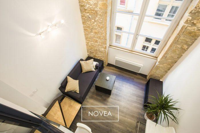 Agence immobiliere novea lyon t2 duplex 30 m2 lyon 1er 169 000 id al - Duree vente immobiliere ...