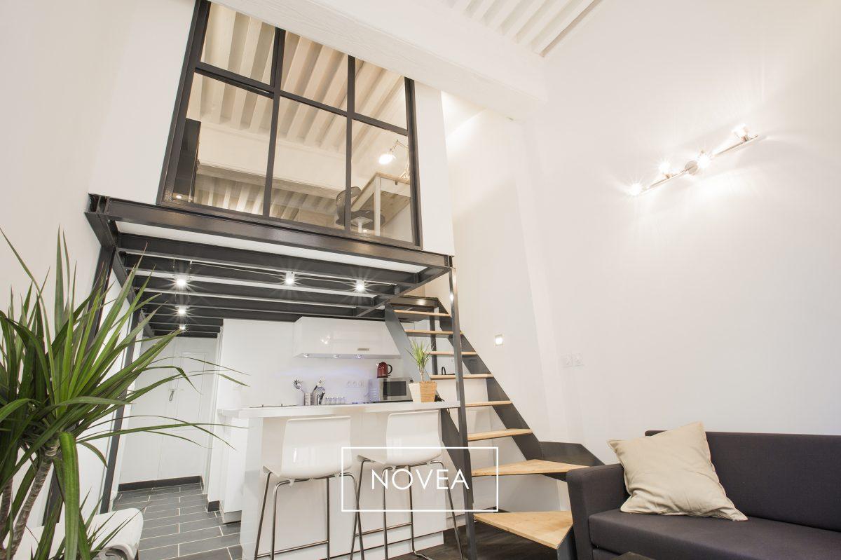 Agence immobiliere novea lyon t2 duplex 30 m2 lyon 1er 169 000 id al - Immobilier a renover lyon ...