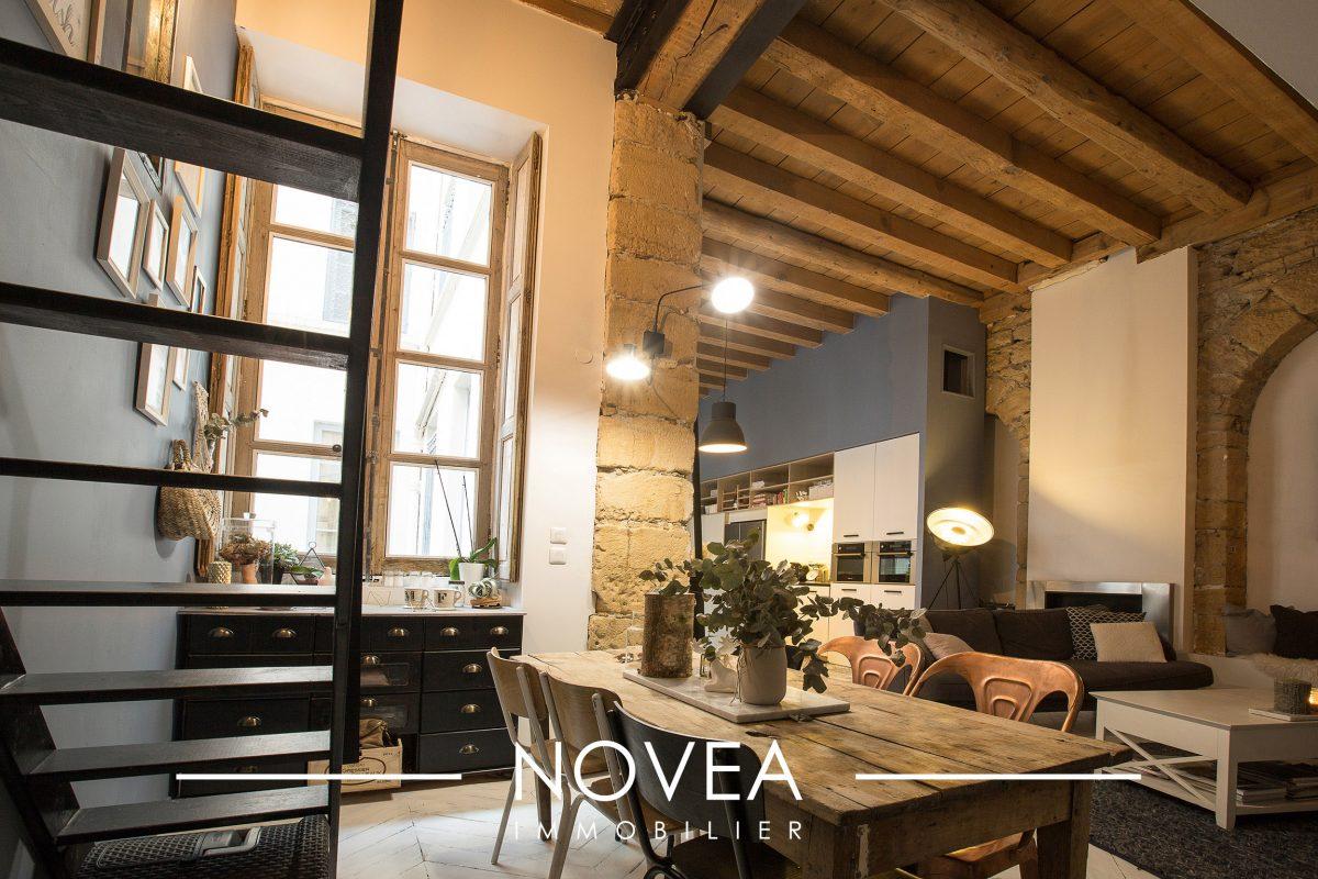 Lyon 1er proche op ra lyon agence novea lyon for Agence appartement 103