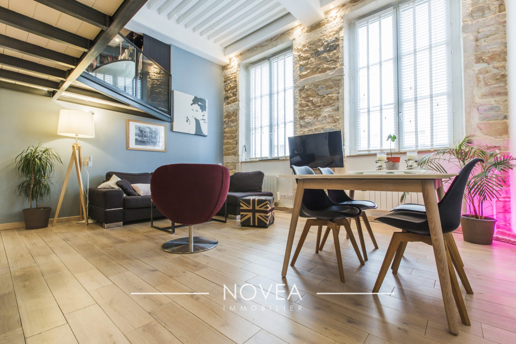 appartement t4 2 chambres croix rousse centre lyon agence novea lyon. Black Bedroom Furniture Sets. Home Design Ideas