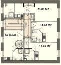 Appartement  Villeurbanne Grand Clément 1 pièces 19 m²