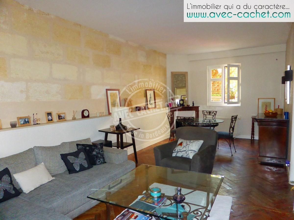 Bordeaux saint augustin lescure maison pierre avec for Agence immobiliere bordeaux saint augustin