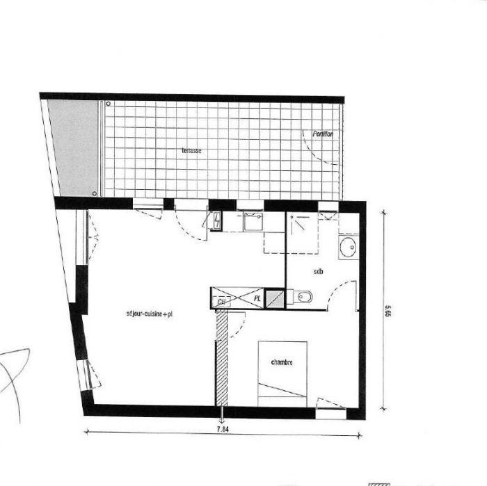 Appartement  Saint-Orens-de-Gameville  2 pièces 43 m²