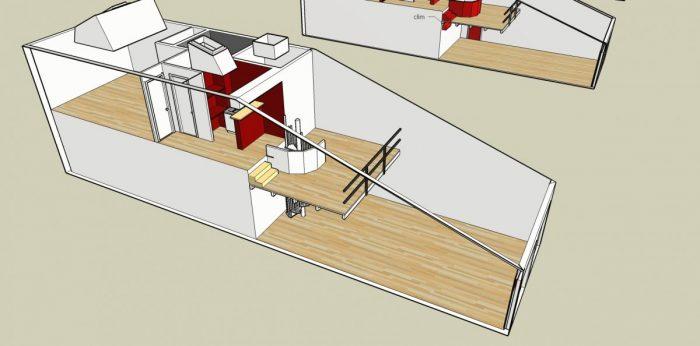 Immobilier Pro 73 m² Launaguet  4 pièces