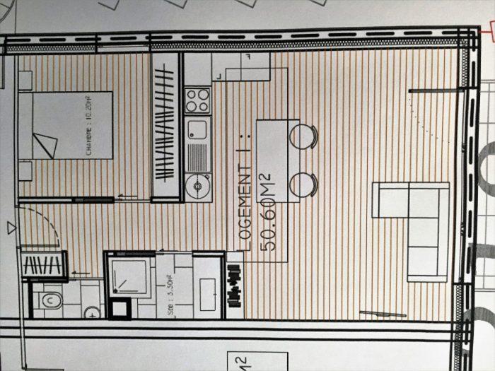 photo de Biguglia, T2 de 54m² neuf cuisine équipée et aménagée