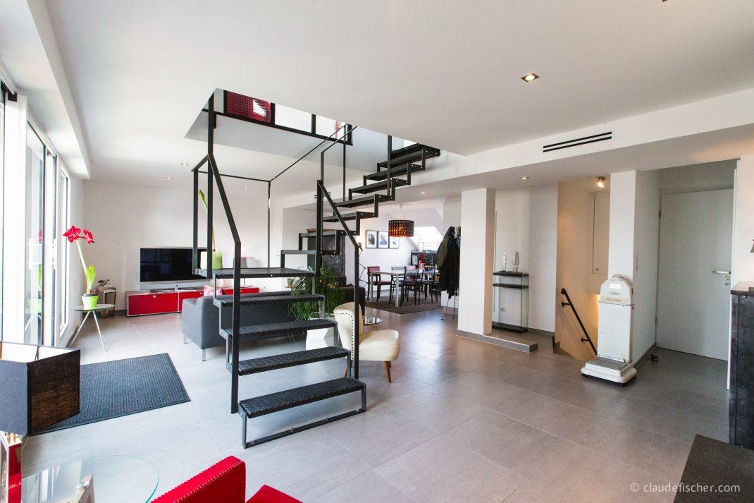 strasbourg tribunal duplex esprit loft avec terrasse strasbourg rapha l immo strasbourg. Black Bedroom Furniture Sets. Home Design Ideas