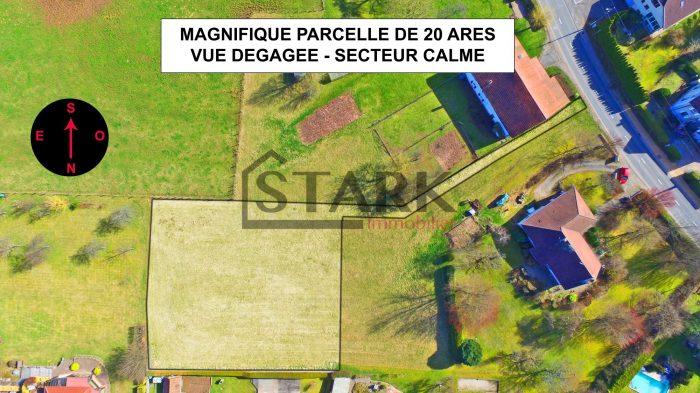 VenteTerrainEVETTE-SALBERT90350Territoire de BelfortFRANCE