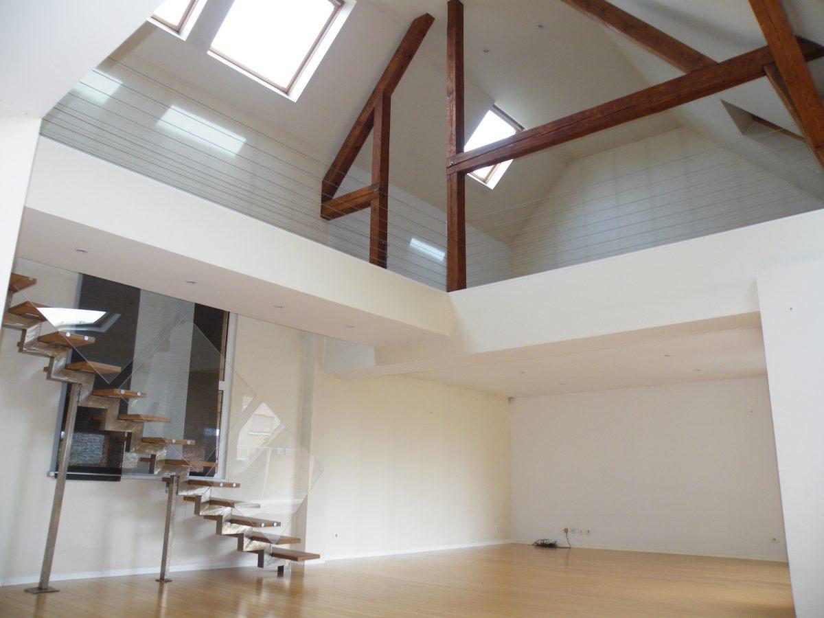 Appartement triplex loft de 167m sand immosurmesure for Immobilier loft