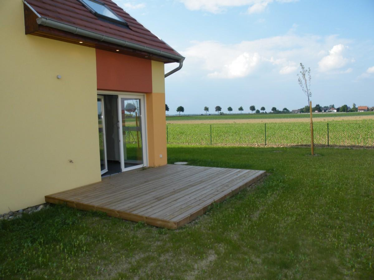 Maison duplex jardin erstein immosurmesure r seau for Vente maison individuelle 06
