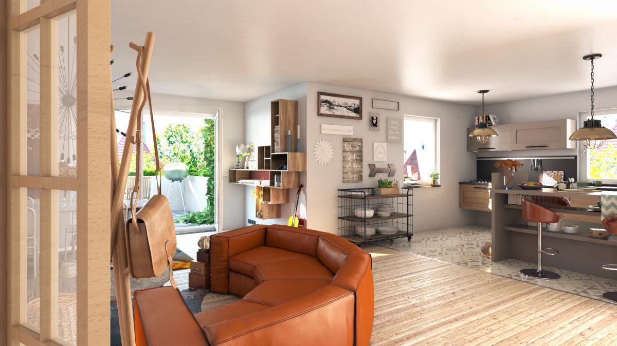 Appartement  Sarrebourg  87 m² 3 pièces