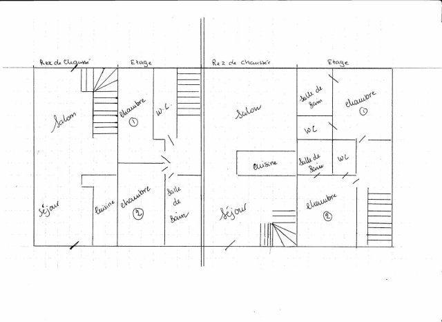 Maison 80 m² Tazilly  4 pièces