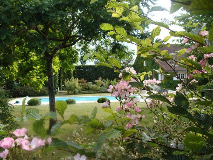 maison avec piscine, Magnifique maison de caractère avec piscine - gite séparée - endroit calme - pas de voisins directs - près des rives de la Loire sur un terrain de 6461m²