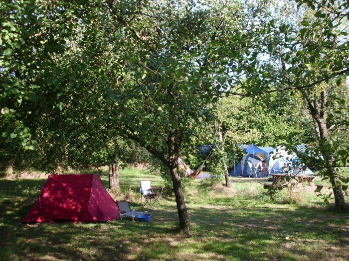 Ancienne ferme avec camping et gite à Moutier d'Ahun en Limousin en France