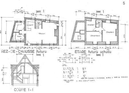 Maison 100 m² Vassy  5 pièces