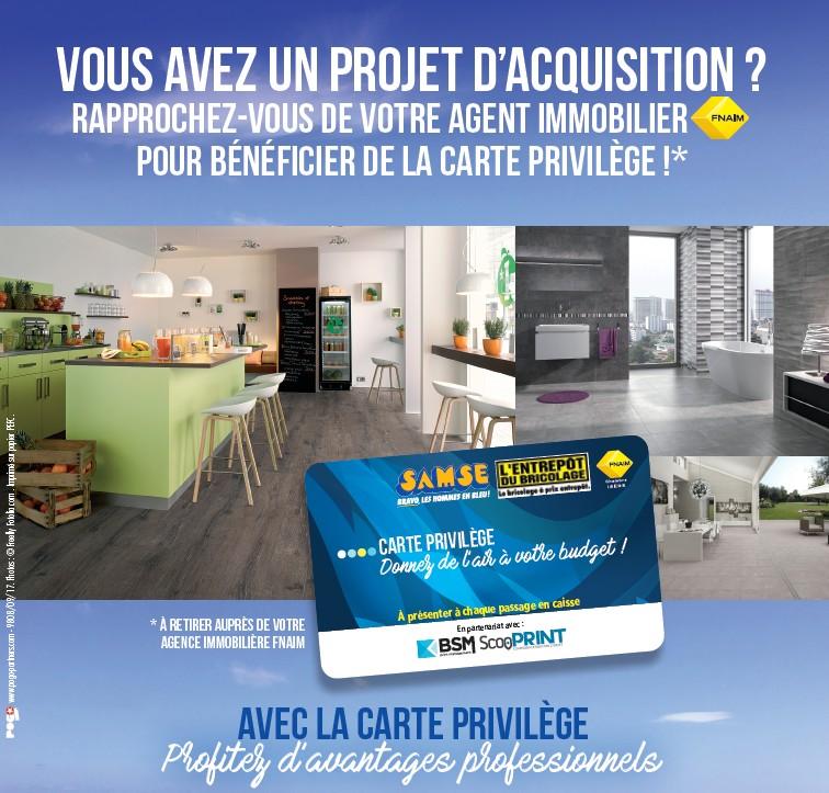 Samse partenariat Baud Immobilier