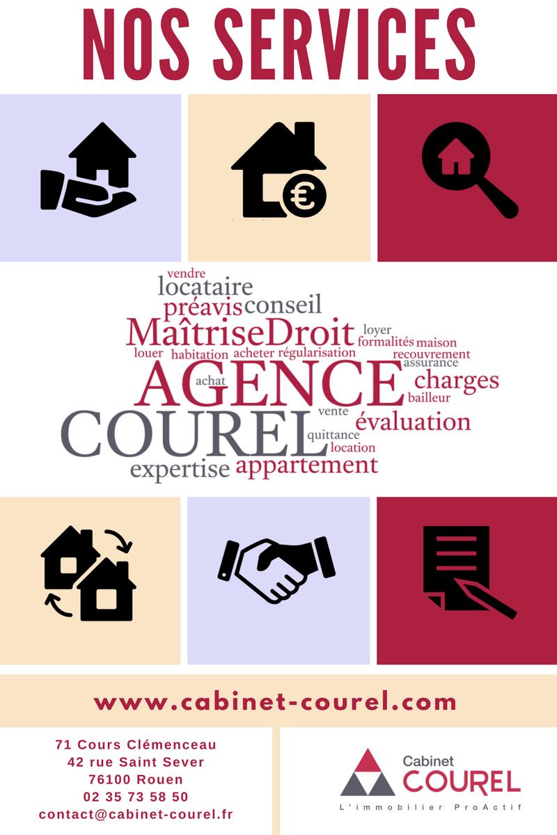 Un service immobilier sur mesure #agence #Courel #Rouen