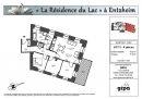Appartement 76 m² Entzheim  4 pièces