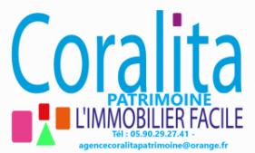 Agence immobilière CORALITA Patrimoine Saint-Martin