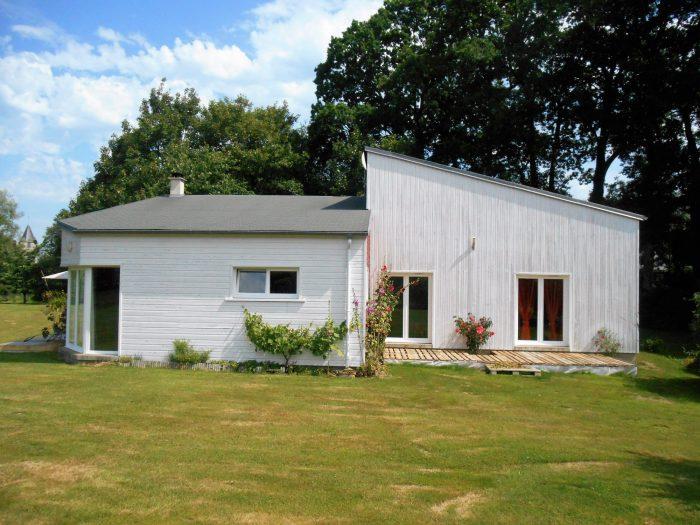 Grande maison contemporaine de plain pied - Grande maison plain pied ...