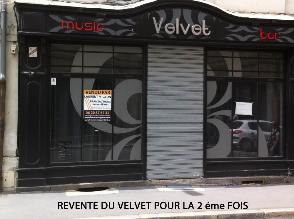 LE VELVET - ANGERS - 2éme fois vendu