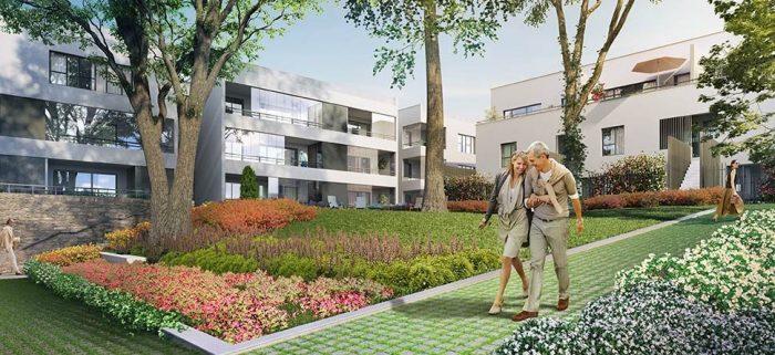 appartement neuf t1 de 21 60m2 caluire et cuire. Black Bedroom Furniture Sets. Home Design Ideas