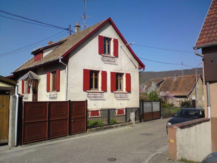 Maison d 39 habitation avec d pendance r nover for Habitation individuelle